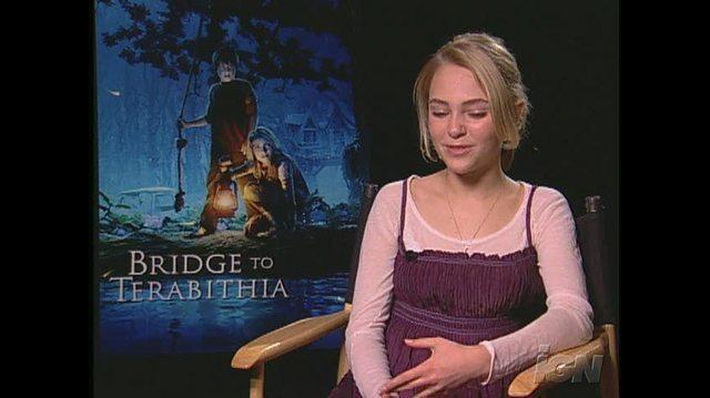 Bridge to Terabithia Movie Interview - ANNA SOPHIA ROBB
