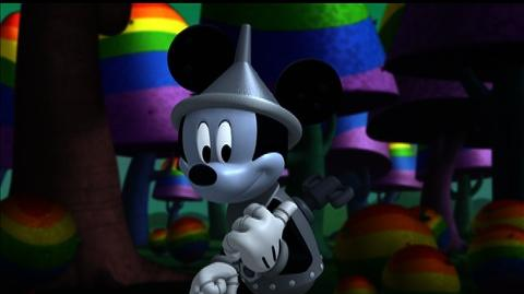 Mickey Mouse Clubhouse The Wizard of Dizz (2013) - Clip Mickey the Tin Mouse