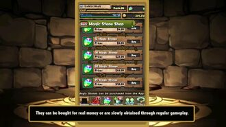 Puzzle and Dragons - Magic Stones