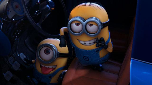 "Despicable Me 2 - ""Lucy and Gru are rescued by two Minions"" Clip"