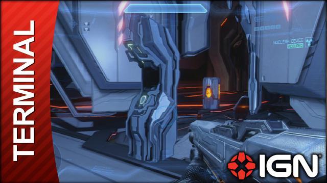 Halo 4 Terminal 7 Location and Video (Mission 8, Unlocks 'Cryptum')