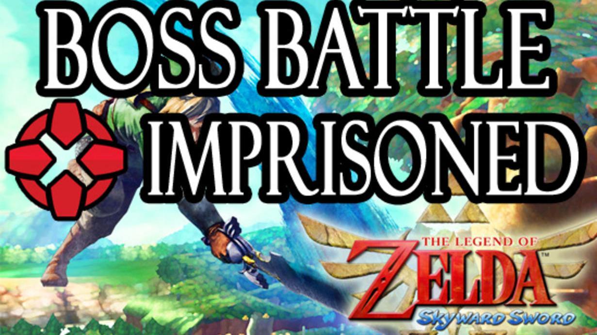 The Legend of Zelda Skyward Sword The Imprisoned Battle - Round One