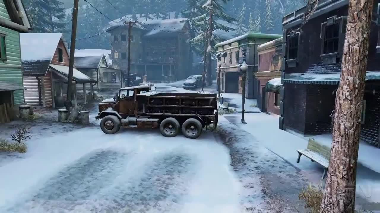 Video The Last Of Us The SnowRidden Map Called Lakeside - The last of us multiplayer maps