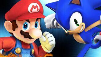 What if Batman vs. Superman was Mario vs. Sonic?