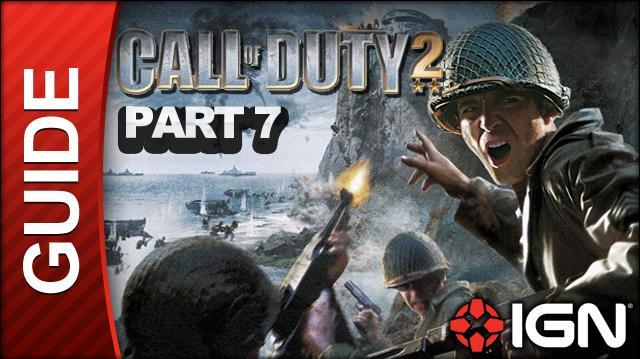 Call of Duty 2 Walkthrough Part 7 - Comrade Sniper - Russian Campaign