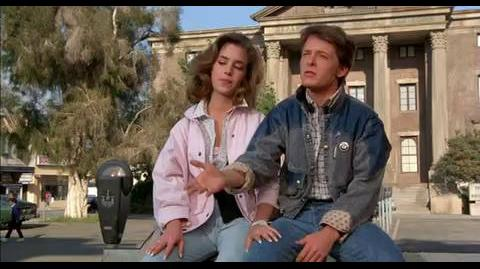 Back to the Future - Complimenting Marty's music