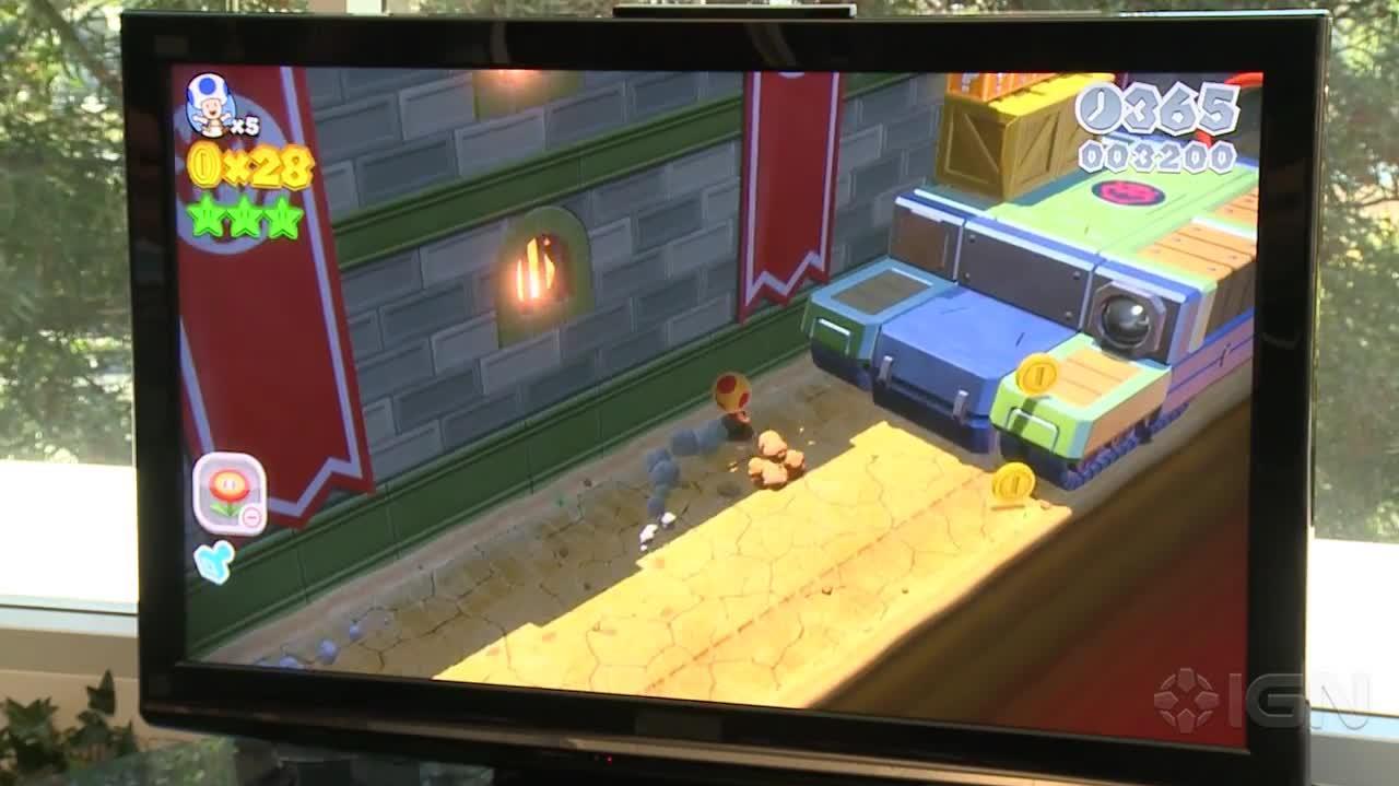 Super Mario 3D World Gameplay Bowsers Bullet Bill Brigade (Single-Player)