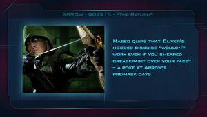 """Arrow S03E14 - """"The Return"""" Fan Brain"""