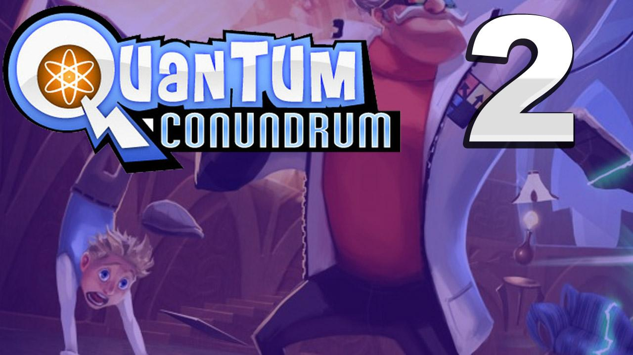 Quantum Conundrum A Shift In Perspective Gameplay Walkthrough (Part 2 51)
