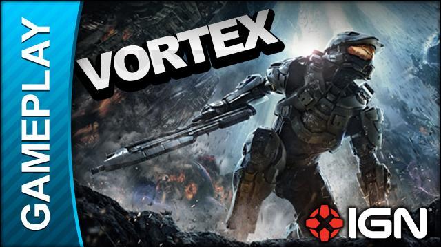 Halo 4 Multiplayer - Vortex - Gameplay