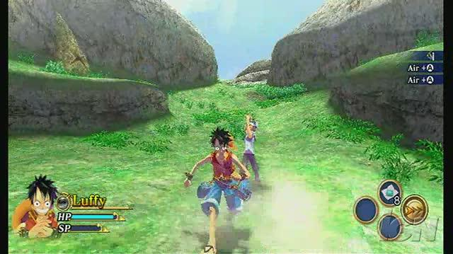 One Piece Unlimited Adventure Nintendo Wii Video - Luffy in Action