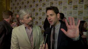 Ant Man - SDCC 2014 Michael Douglas and Paul Rudd Interview