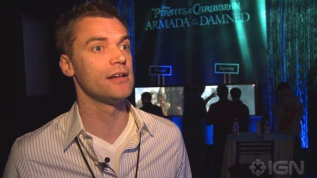 Pirates of the Caribbean Armada of the Damned X360 - E3 2010 Game Director Alex Peters