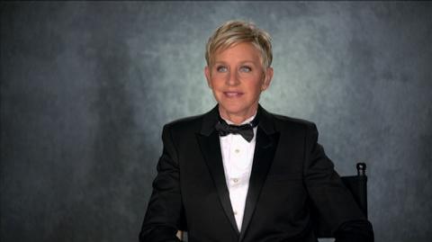 Academy Awards 86th Annual () - Interview Ellen DeGeneres