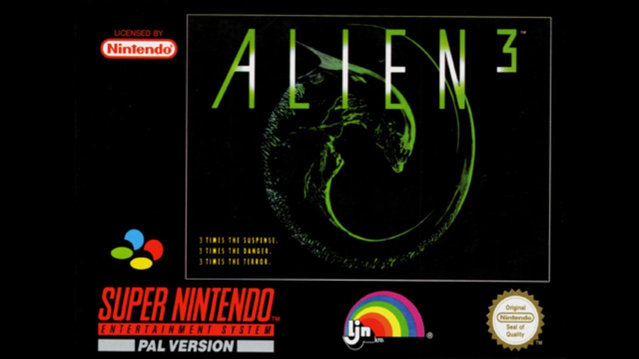 Alien 3 Gameplay