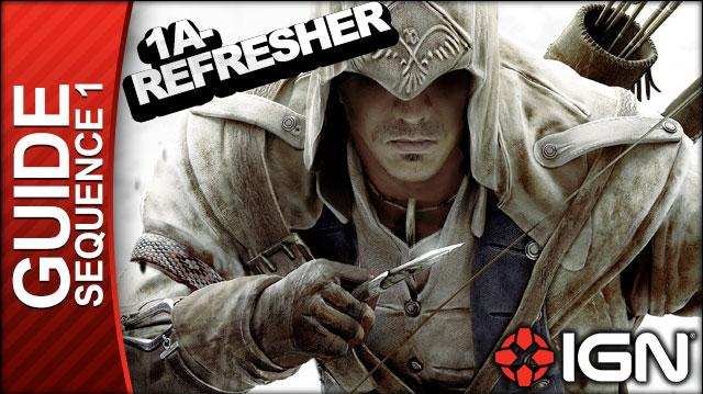 Assassin's Creed 3 - Sequence 1 Refresher Course - Walkthrough (Part 1)