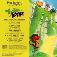 Yooka-Laylee Music from the Videogame Back Cover