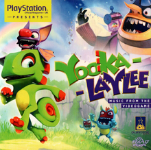 Yooka-Laylee Music from the Videogame Front Cover