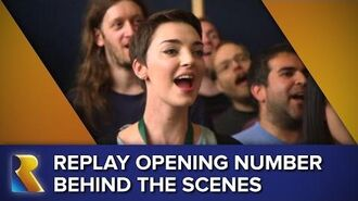 Rare Replay Opening Number- Behind the Scenes