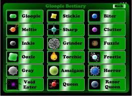 Gloople Bestiary
