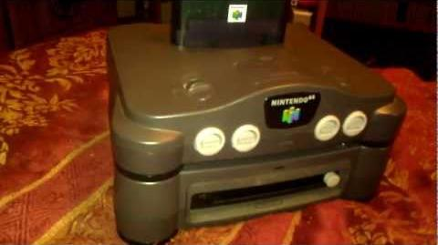 64DD A brief review and history (and glimpse of SimCity 64)