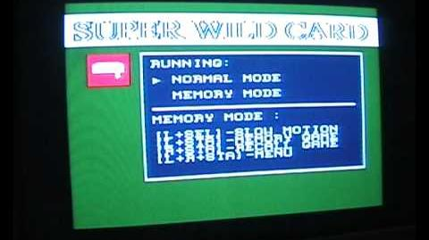 SNES Super Wild Card