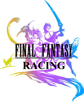 Final Fantasy Racing Logo