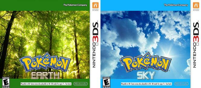 Pokémon Earth and Pokémon Sky