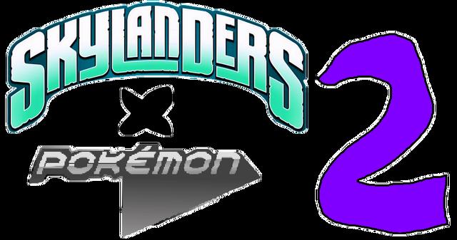 File:Skylanders X Pokémon 2 Logo.png