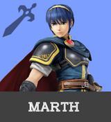 Marth Rumble Portrait