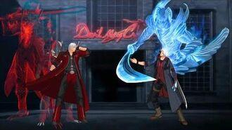 Mugen Devil May Cry 4 - Dante VS. Nero