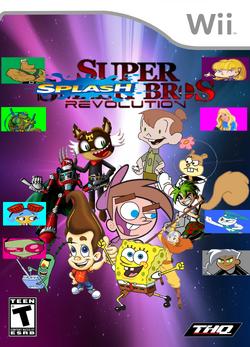 Nicktoons-Super-Splash-Bros.-Revolution-Wii