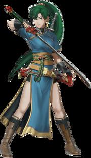 Fire-Emblem-Warriors-Lyn-Render