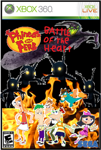 Phineas and Ferb: Battle of the Heart   Video Game Fanon Wiki   Fandom
