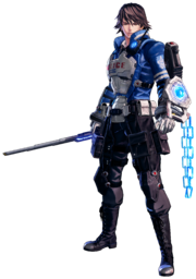Astral Chain Protagonist Akira Howard Male Official Render