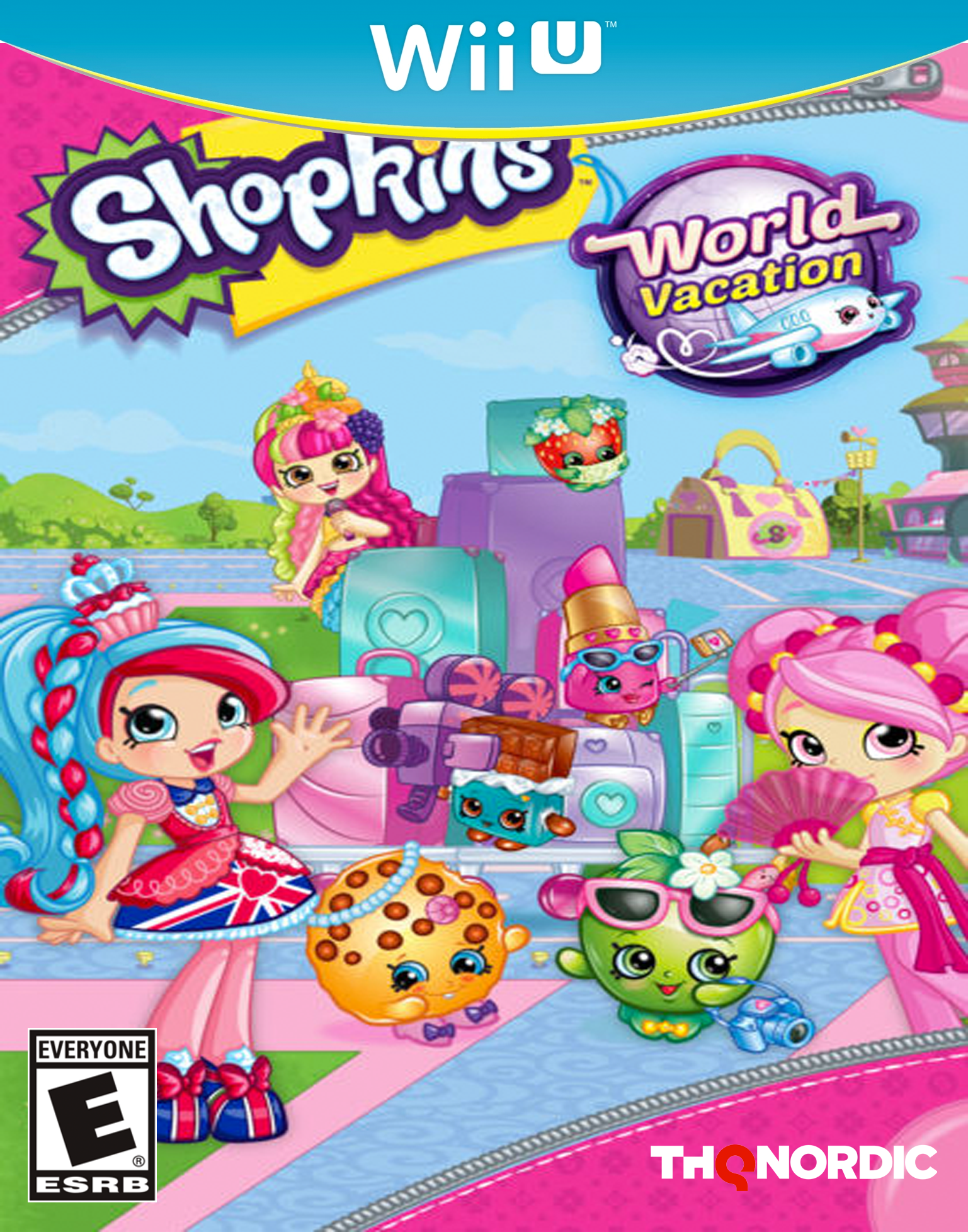 Shopkins World Vacation Wii U 2017
