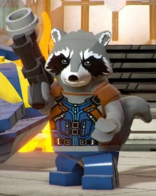 LEGO Rocket Raccoon