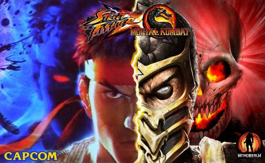 Mortal Kombat X Street Fighter Video Game Fanon Wiki Fandom