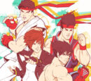 Street Fighter x King of Fighters x Tekken x Virtua Fighter