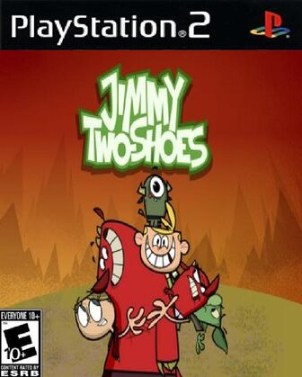 Jimmy Two Shoes PS2 Cover