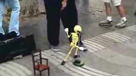 Skeleton Puppet