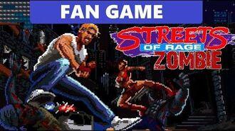Street of Rage Zombie Fan Game
