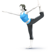 Wii Fit Trainer SSB4