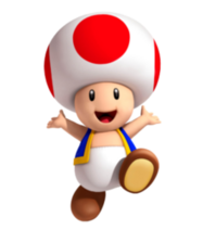 Toad 3D Land