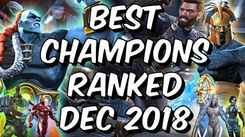 Video - Best Champions Ranked December 2018 - Seatin's Tier