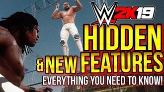 WWE 2K19 - HIDDEN FEATURES & All NEW Features You Need To Know! ( WWE2K19 Round-Up Of Everything)