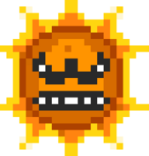Angry sun, the