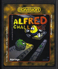 Alfred Challenge Atariage