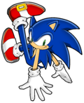 More sonic channel coloring practice by wild canyon-d9va3r7