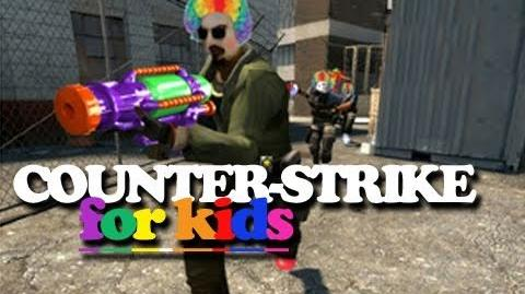 Counter-Strike For Kids (Machinima) - 13 million views - All-time highest viewed video!